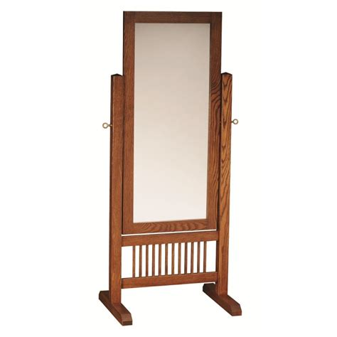 Cherry Wood Dining Room Sets by Mission Cheval Mirror Amish Handcrafted Solid Hardwood