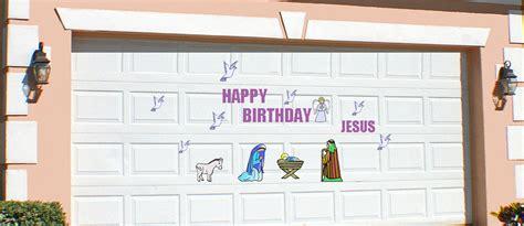 Magnetic Garage Door Decorations Garage Door Decor Magnets Merry Festive Garage Door Magnets Hohoho Santa