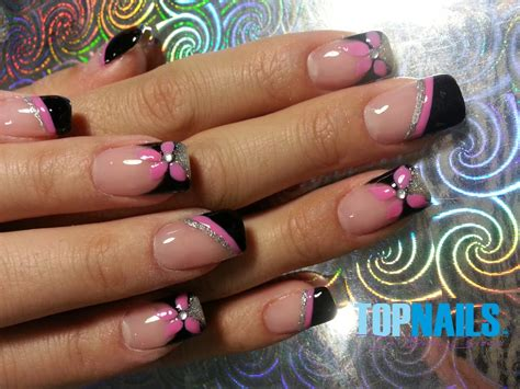 imagenes de uñas acrilicas fransesas topnails cl u 241 as acr 237 licas y u 241 as gel a domicilio u 241 as