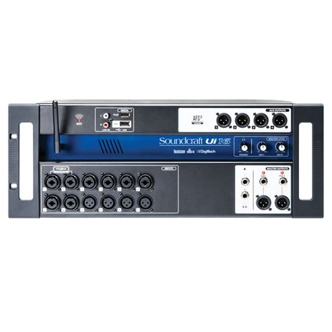 Mixer Digital Soundcraft soundcraft ui16 digital rack mixer at gear4music