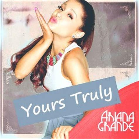 Grande Yours Truly Cd grande baby i lyrics grande