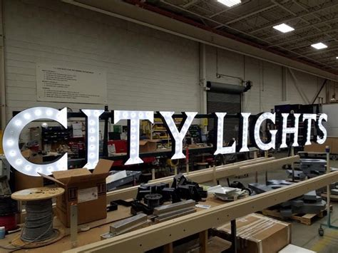 city lights brewing company new city lights brewing sign will light up the valley