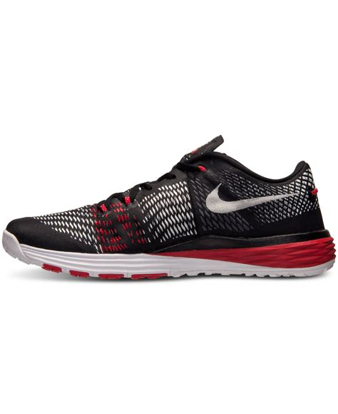 workout sneakers lyst nike s lunar caldra sneakers from