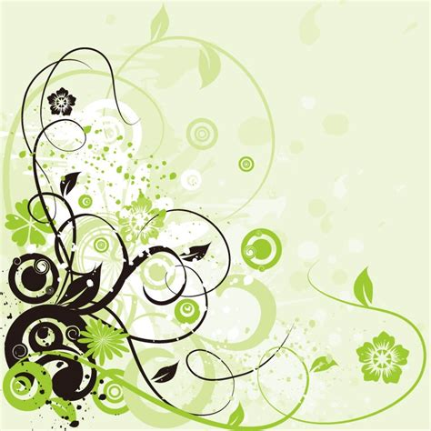 swirl background pattern free download floral swirl background abstract vector graphic free