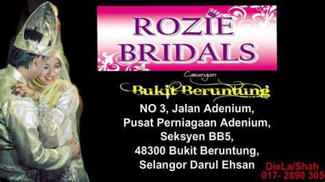 baju pengantin muslimah bukit beruntung rozie bridals butik pengantin di bukit beruntung selangor