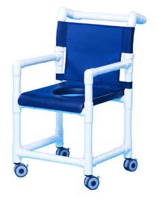 rolling deluxe shower chair w closed front soft seat sc718
