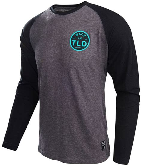 design t shirt long sleeve 32 00 troy lee designs mens quality cotton blend long