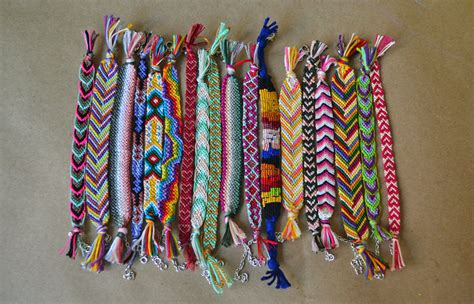 How To Make Handmade Bracelets With Threads - diy friendship bracelets all the go to heaven