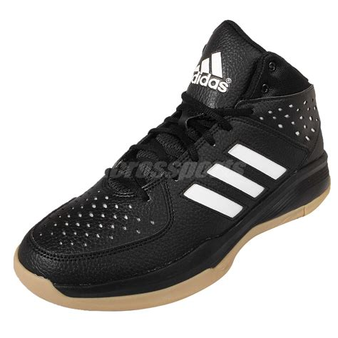 adidas court fury black white gum adiprene mens basketball shoes aq8537