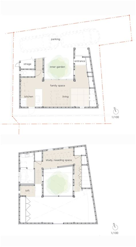 small family house plans house j a spiral experience japanese architecture