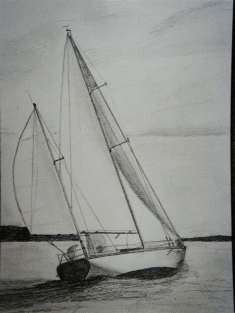 boat with drawing best 25 sailboat drawing ideas on pinterest boat