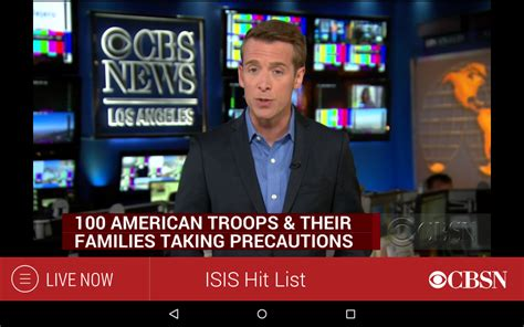 watchon apk cbs news android apps on play