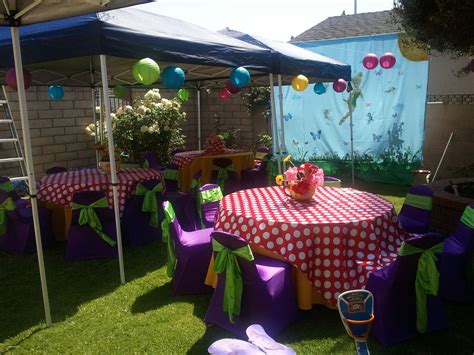 backyard party decoration new outdoor birthday party decoration ideas creative