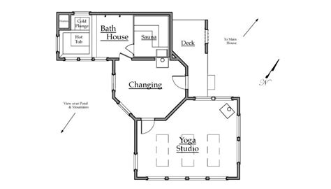 yoga studio floor plan white mt bath house yoga studio endymion designs