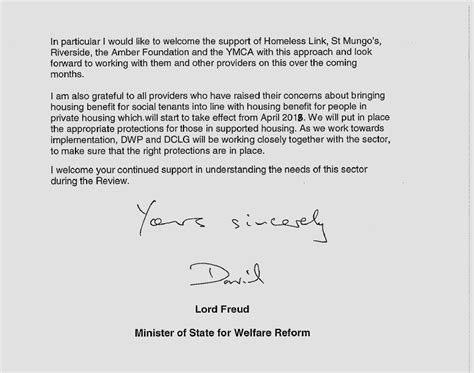 Request Letter Sle For Housing Allowance Government Confirms 1 Rent Reduction Will Not Apply To Supported Housing Homeless Link