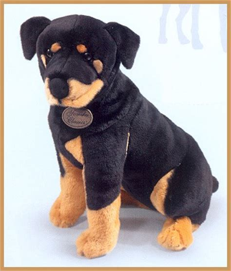 plush rottweiler rottweiler puppy stuffed animal