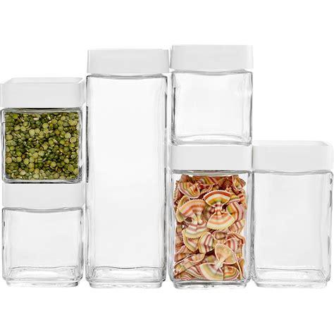 martha stewart kitchen canisters martha stewart collection 12 pc stack store food