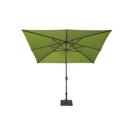 rectangle umbrella patio caspian 8 x 10 rectangular auto tilt market umbrella