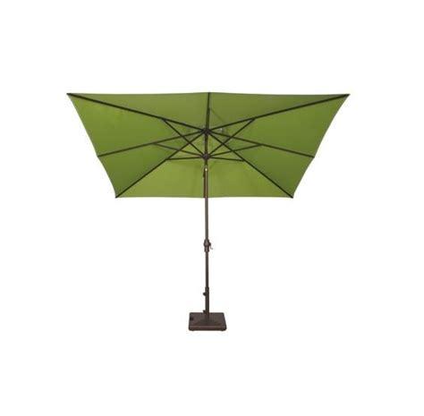 Caspian 8 x 10 rectangular auto tilt market umbrella pc pools