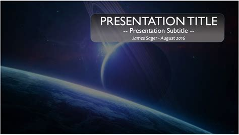 Free Space Powerpoint Template 10092 Sagefox Free Powerpoint Templates Space Powerpoint Template
