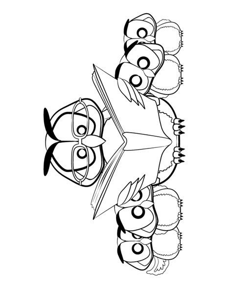reading coloring pages printable free coloring pages of baby owl reading