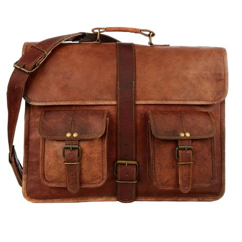 large for leather large brown style leather satchel by paper high