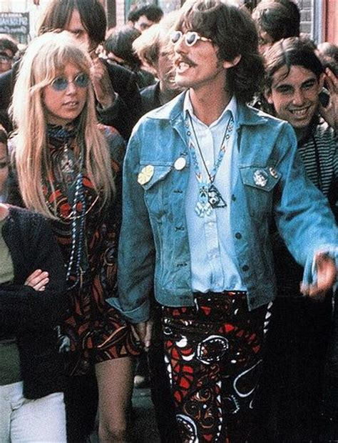 1960s fashion hippie on pinterest hippies 1960s 70s 1960s george and pattie harrison festival fashion for