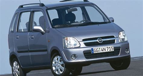 opel minivan opel agila minivan mpv 2003 2008 reviews technical