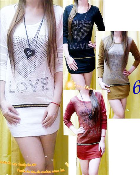 Hias Bordir Dress Murah baju import murah dagang baju jual dress t