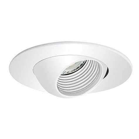 3 quot low voltage recessed lighting white baffle white
