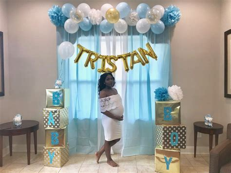 Baby Shower Backdrop by Baby Shower Photo Backdrop It S A Boy Shower