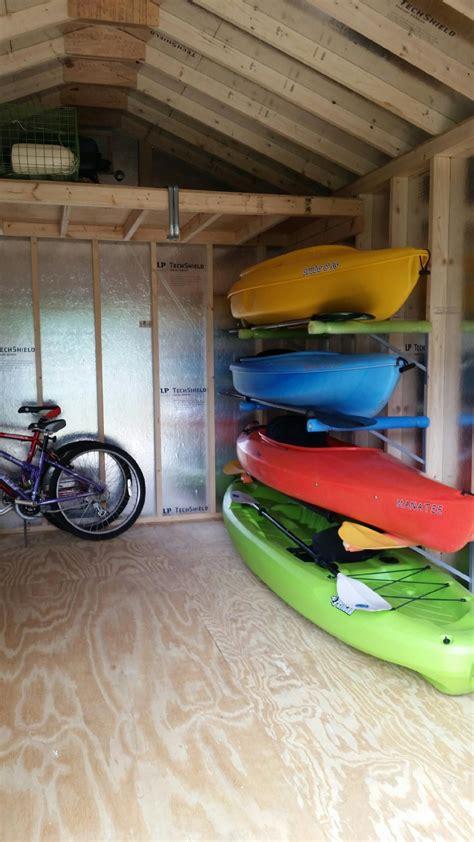 garage kayak storage sideboard woodworking plans diy kayak storage garage