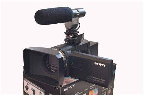 camaras video video camara sony full hd 32gb microfono externo