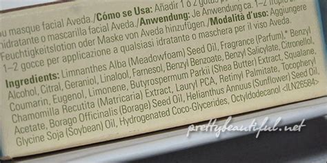 aveda hair color ingredients essential sos for skin aveda balancing infusion