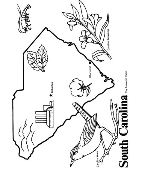 louisiana state symbols coloring pages az coloring pages