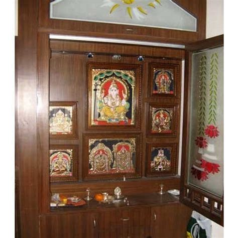 pooja room cabinet designs wooden pooja room cabinet at rs 1400 square s sarjapur bengaluru id 11126657330