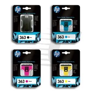 Tinta Genuineoriginal Hp 920 B hp 363 pack 4 x colores c8721e c8771e c8772e c8773e