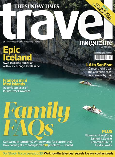 s day times the sunday times travel magazine