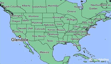 california map glendale where is glendale ca where is glendale ca located in