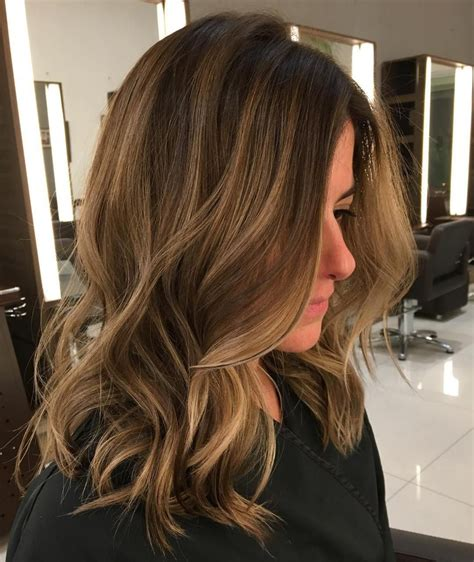 soft highlights and steely lowlights to blend her grey 45 ideas for light brown hair with highlights and