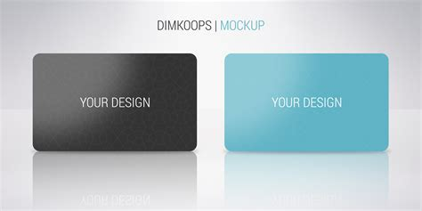 pvc card photoshop template plastic card mockup by dimkoops on deviantart