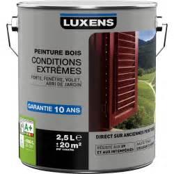 peinture bois ext 233 rieur conditions extr 234 mes luxens blanc