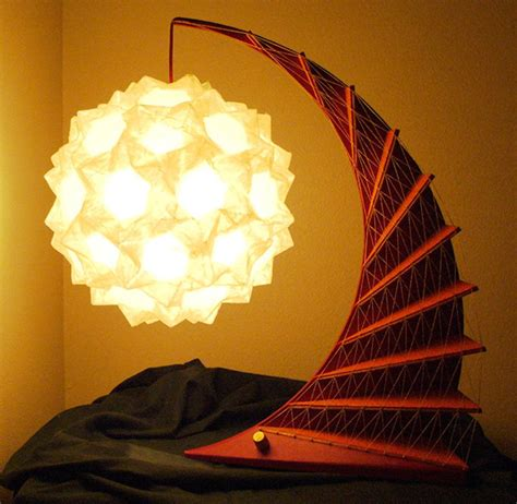 Origami Light Fixture Geometric Origami Ls Folding Light Technabob