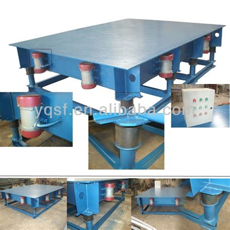 concrete vibrating table for tile compacting and