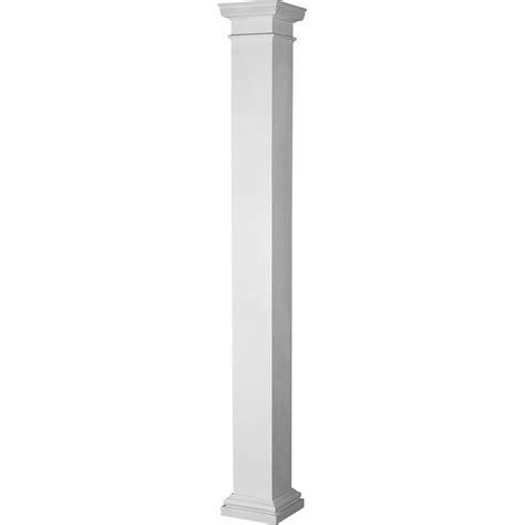 Fiberglass Columns Home Depot El1210enpsatutu 12 Quot X 10 Endura Lite Column Square