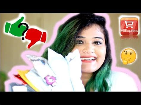 aliexpress haul and honest review india tips and tricks