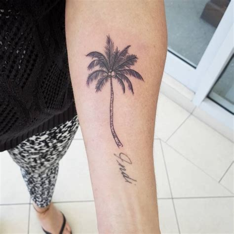 120 best palm tree tattoo designs and meaning ideas of