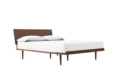 dwr beds americanmodern bed walnut design within reach