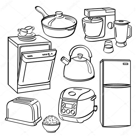 coloring pages kitchen appliances washer and dryer free coloring pages sketch coloring page