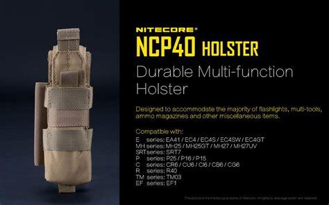 Nitecore Durable Holster Ncp30 nitecore ncp40 durable multi functio end 1 1 2017 12 00 am